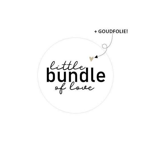 Sticker sluitzegel little bundle of love