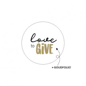 sticker sluitzegel love to give