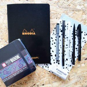 Combi pakket handlettering en brushlettering