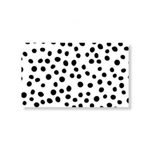 Minikaartje dots 6x10cm